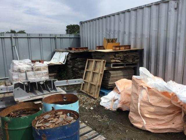 木くず&混合廃棄物