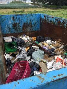 引取り前 管理型混合廃棄物